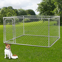 Cheap Price Chain Link Dog Kennel Panels