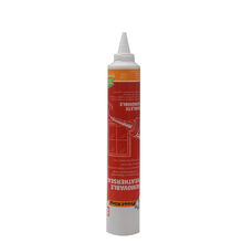 Different diameter empty plastic tube adhesive glue packaging tube with long needle