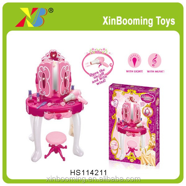 Battery Operated girls beauty play set toys