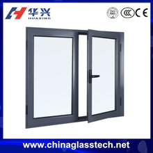 Energy efficient AS 2047 standard thermal break aluminum alloy profile double glass &clearcasement aluminium window frame design
