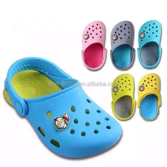 Professionl Factory Made Customized Design for Children Silicone Beach Slipper Garden shoes
