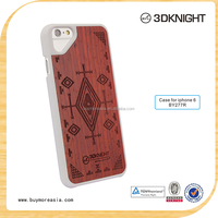 The cute pattern engraved wood Phone Cases and cover For Apple Iphone 6