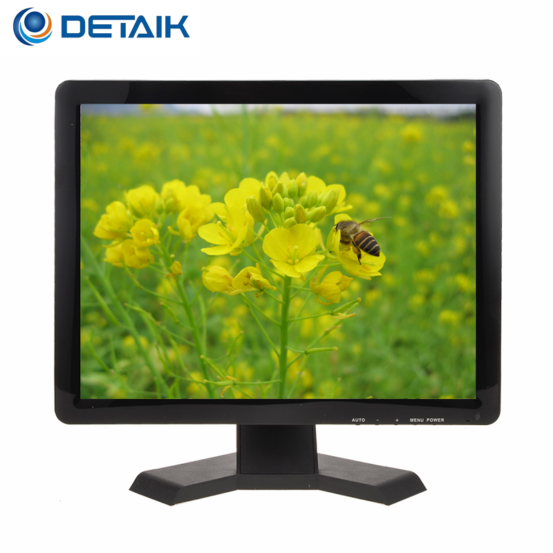 DTK-1988T TFT LCD Square Screen Black Color 19 Inch Retail LCD TV Monitor