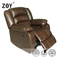 ZOY-93933-51Hot Italian Style Genuine Leather Sofa