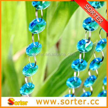 Sky Blue Crystal Garland for Party / Wedding / Christmas garland