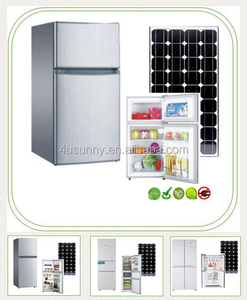 Top Freezer 12V DC Solar Powered Refrigerator Price Fridge