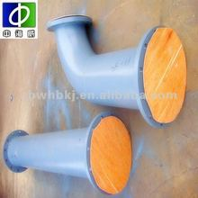 Fast shipping carbon steel seamless rubber lined pipe elbow