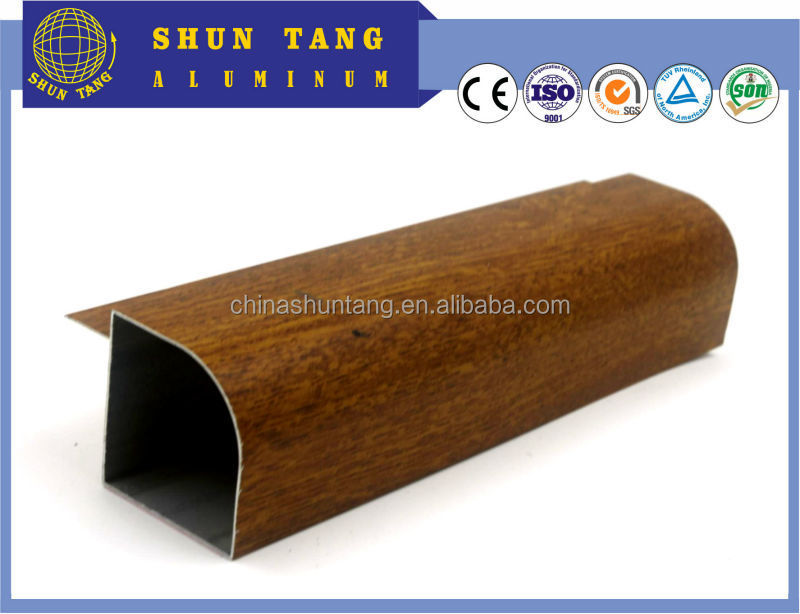 Oxidize Anodized aluminum extrusion profile alloy window casement profile aluminum profile