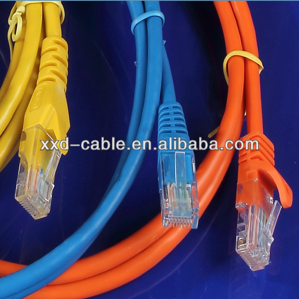 High quality 500MHz Ethernet Network cable SFTP Cat6A Patch Cord