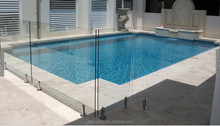 tempered glass pool fence panels