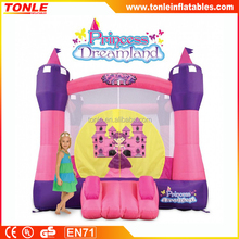 Princess Dreamland Inflatable Bouncer, Inflatable bouncy castle