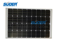 Suoer Low Price 100w 18v Monocrystalline PV Solar Cells Panel
