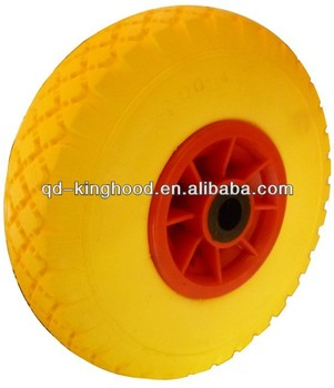 Small Wheels 3.00-4 Flat Free PU Foam