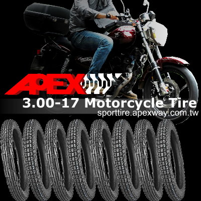 3.00-17 Motorcycle Tire