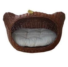 Poly rattan cat bed /wicker cat bed