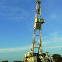 Truck mounted borehole drilling rig prices for oilfield