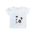 Wholesale graphic design custom printing quick-dry extended toddler baby plain white jersey tee t shirts