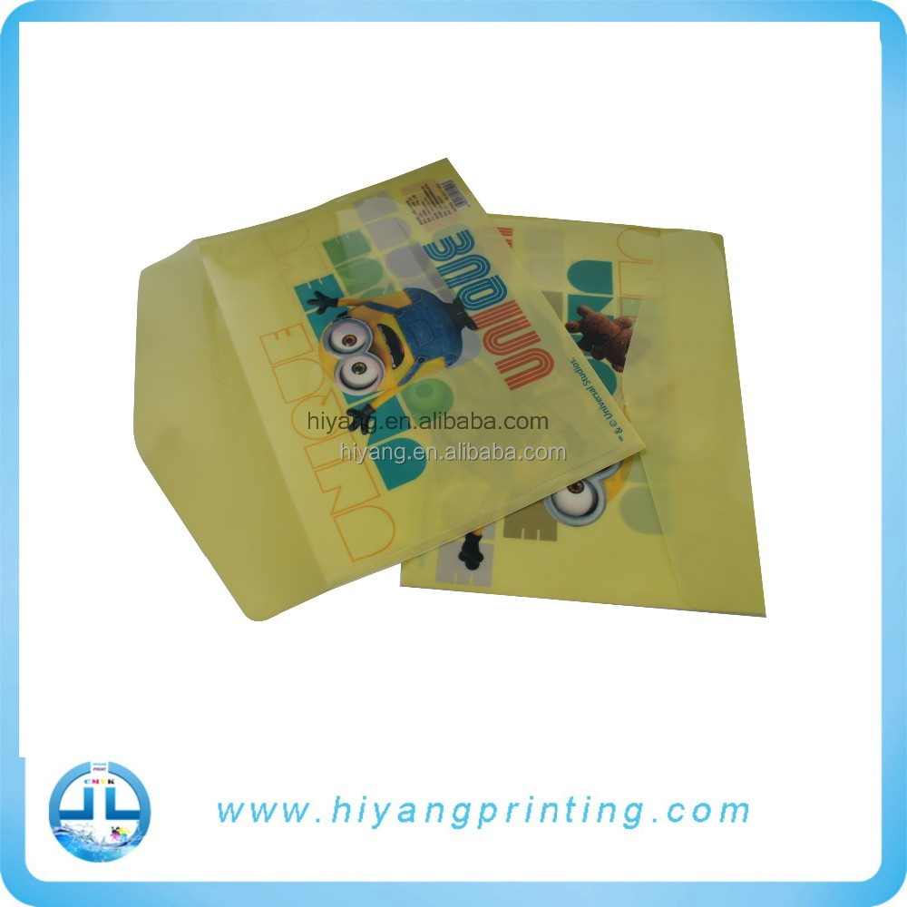 Made in china stationery file with hot stamping