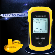 Wireless Fish Finder Sonar Fishfinder 40m Depth Range Ocean Lake Sea Fishing