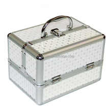 New Arrival Portable Jewelry Box Make Up Organizer Travel Makeup Storage Box Cosmetic Organizer Container Suitcase Beauty Case