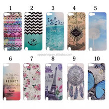 For iPod touch 5 butterfly hard case, for ipod touch 5 tower case cover, tribal case for ipod touch 5