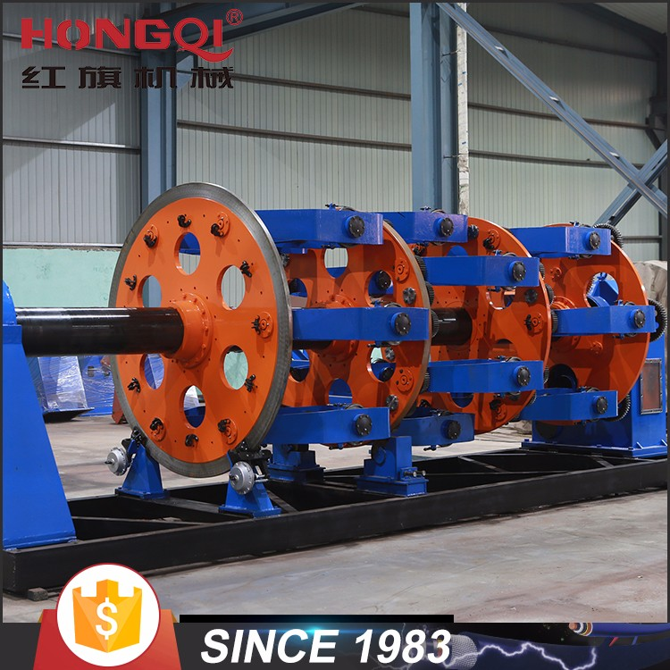 planetary cage type cable making equipment power cable production line
