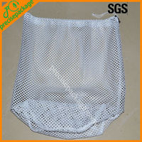 Wholesale mesh laundry bag with socker
