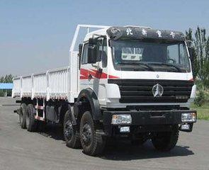 North Benz Heavy duty Flatbed cargo Truck 8x4 for sale