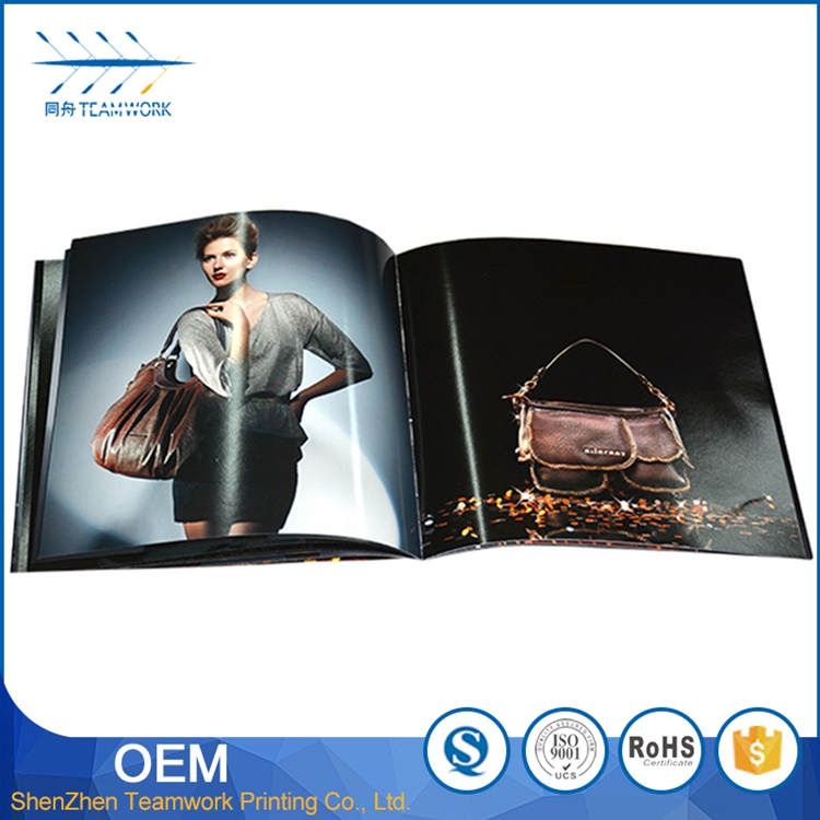 bulk hard cover book printing a3 magazine printing company
