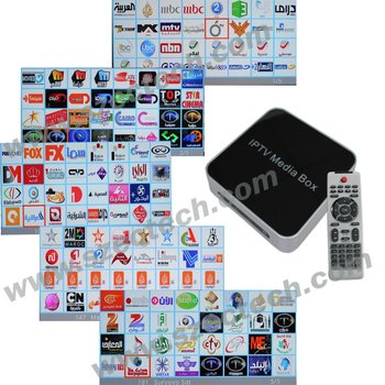 Arabic IPTV Arabic tv live channels Arabic TV box Arabic IP TV box,EC-V12