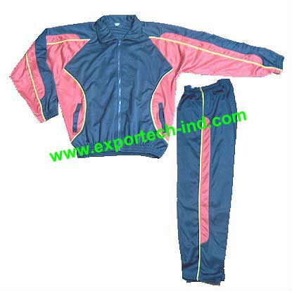 Quality 100% Polyester Tricot Jogging suit