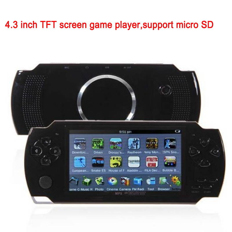 4.3 inch 8GB support TF card game mp4 games free downloads