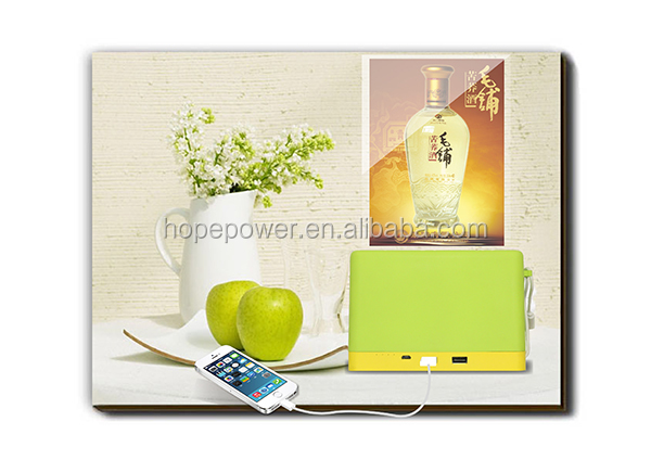 2017 hot new products restaurant napkin power bank,menu power bank with paper holder