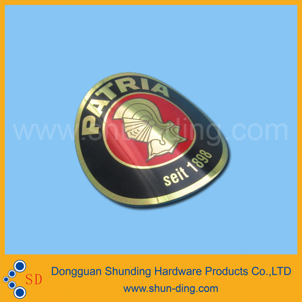 custome beer bottle metal labels