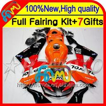 Repsol orange Body Injection For HONDA CBR600RR 13 14 Red black 28CL41 CBR 600RR 600 RR 2013 2014 CBR600 RR F5 13-14 Fairing