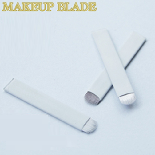 <strong>U</strong> Shape Permanent Makeup Microblading Manual Needles Embroidered Tattoo Blade For Eyebrow