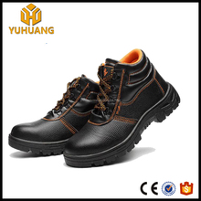 Wholesale Cheap price PU Leather safety shoes steel toe cap