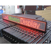 Double color P7.62 led shop fascia advertising sign