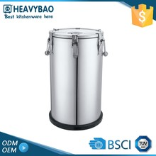 Hot Thermo Storage Stainless Steel Barrel For Soup Milk