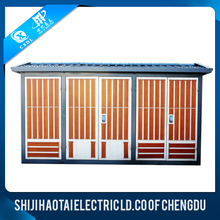 European type 0.4KV/10KV power distribution boxes transformer substation