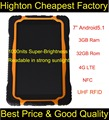 Highton MTK6735 Quad-core 3G Ram 32G ROM GPS NFC UHF RFID Super-Brightness Screen 7 Inch Android Rugged Tablet 4G LTE Phone