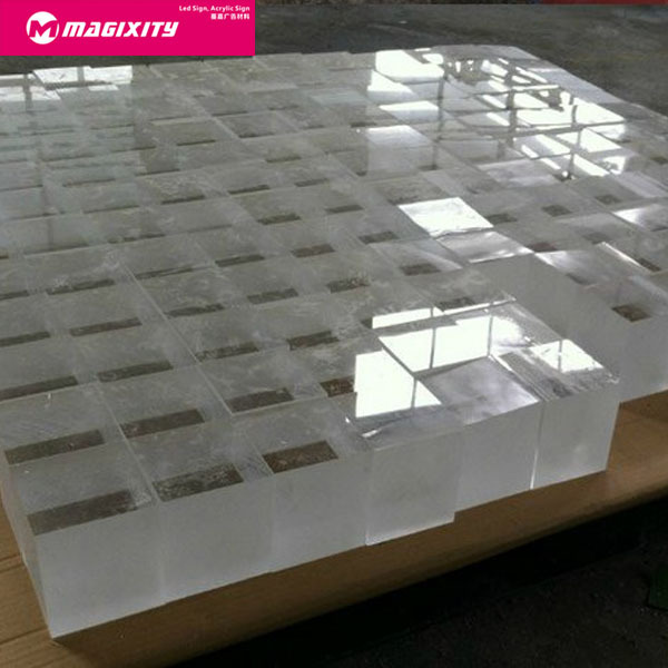 custom fabrication cast acrylic sheet perspex