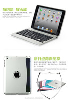 Hot seller factory supply clamshell mini Bluetooth keyboard cheap price wireless keyboard case for iPad Mini3/2/1