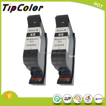 black compatible HP 51645A 45 45A ink cartridge