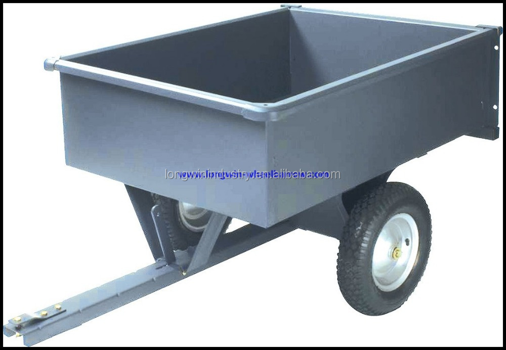 farm utility 2 wheel garden dump tool cart
