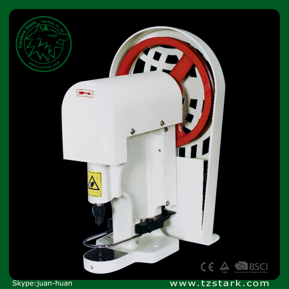 Customized 808 Single head snap button attaching machine for jeans fabrics plastic etc