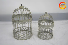Outdoor large metal bird cage