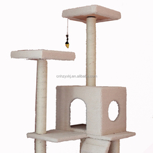 Cat Jumping Toy with Ladder Climbing Frame Cat Furniture Cat Tree Scratcher
