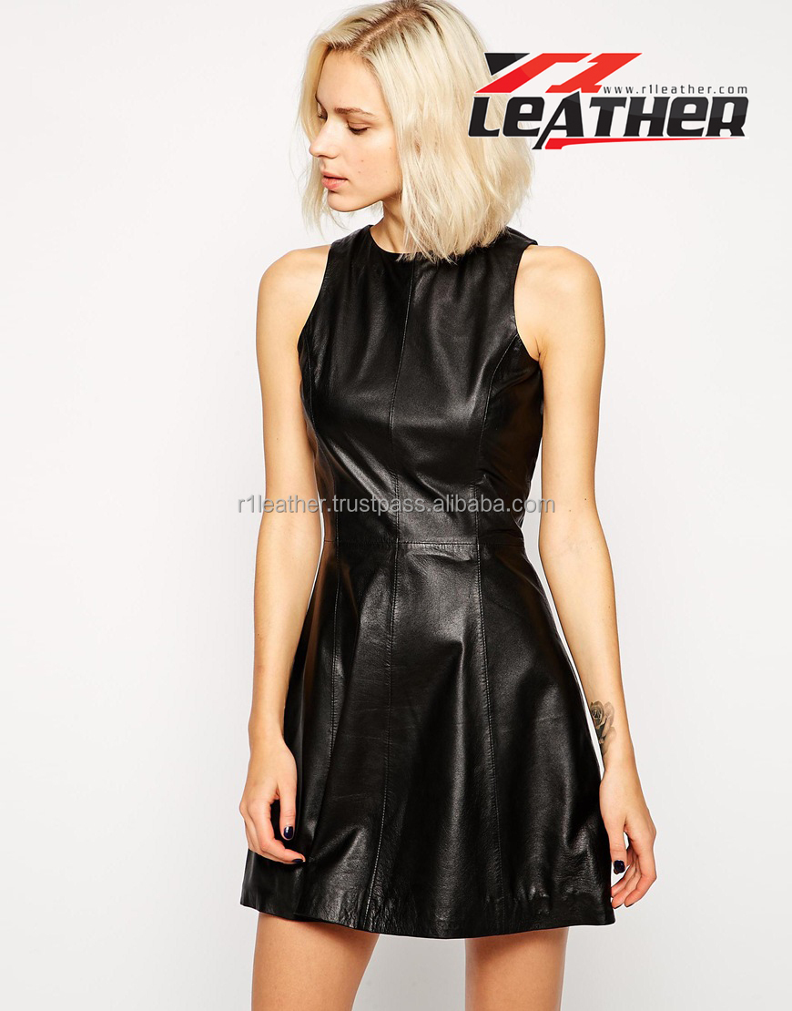 Wholesale Lastest Cheap Lover-Beauty Women Sexy Cheap Leather Dresses