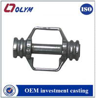 China manufacturing stainless steel metal electric scooter spare parts investment casting